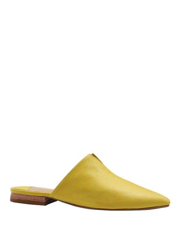 Zapato Zueco FZ-9500 Color Amarillo