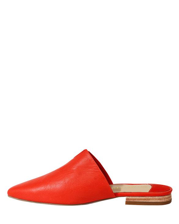 Zapato Zueco FZ-9500 Color Rojo