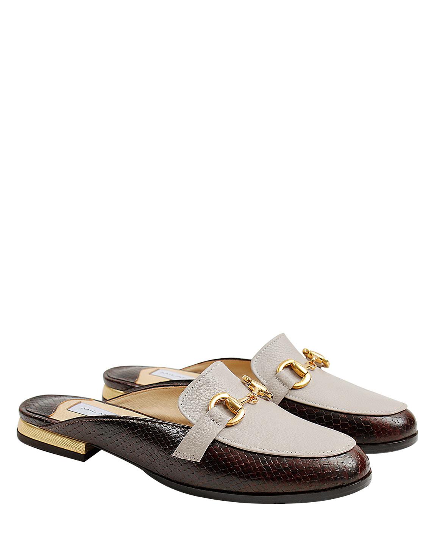 Zapato Zueco FZ-9657 Color Marrón