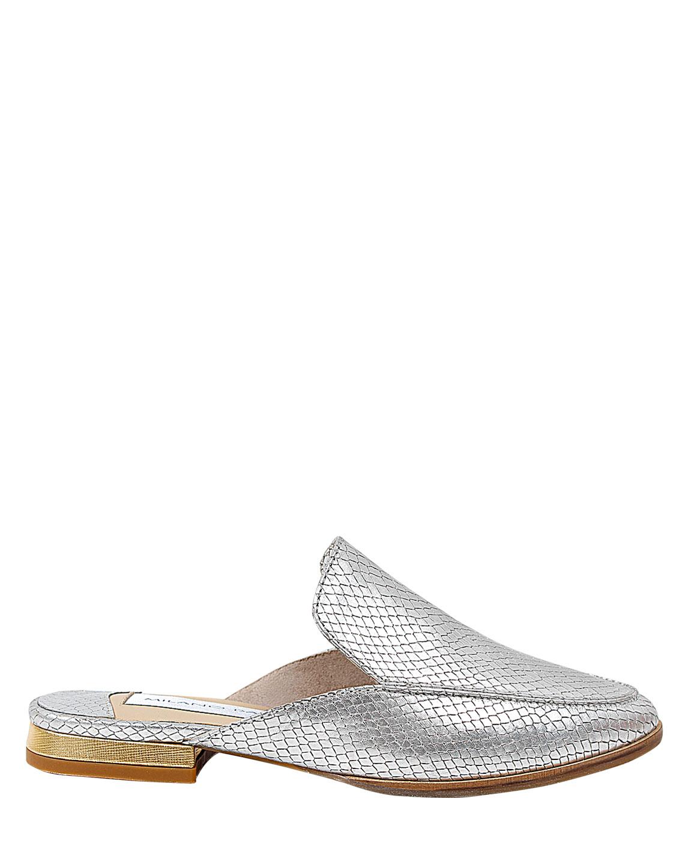 Zapato Zueco FZ-9706 Color Plata