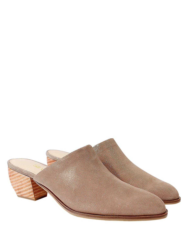 Zapato Zueco FZ- 9798SD color Visón