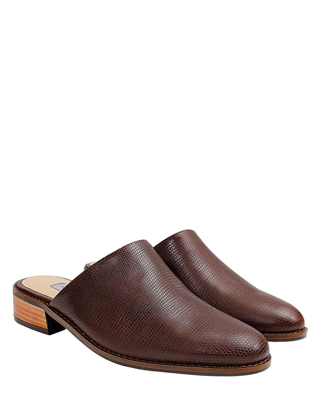 Zapato Zueco FZ-9799 Color Marron