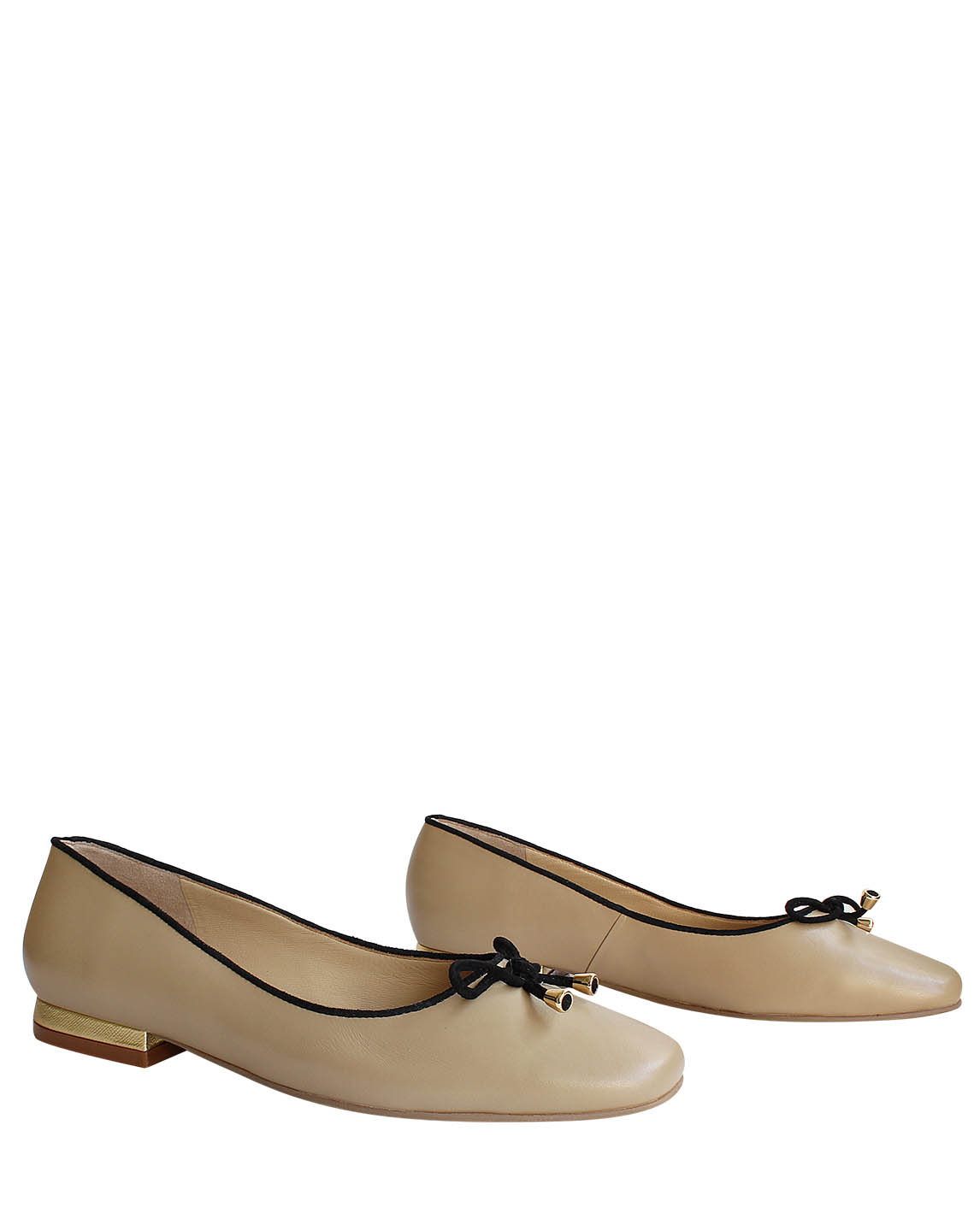 Zapatos Ballerina FR-8962 Color Beige