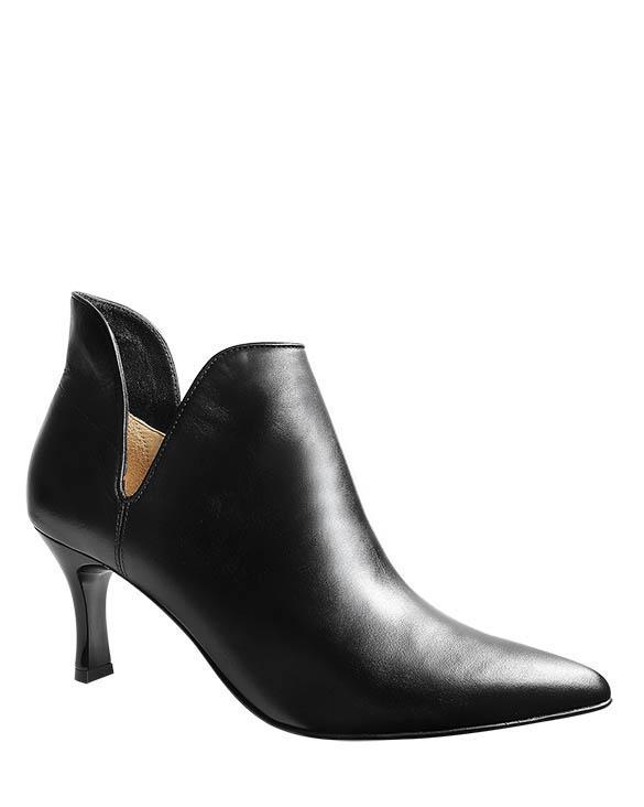 Zapatos Bootie FBU-9253 Color Negro