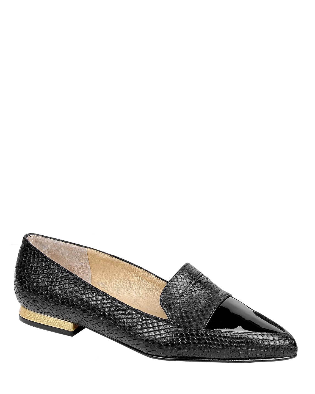 Zapatos Flats FM-8548 Color Negro
