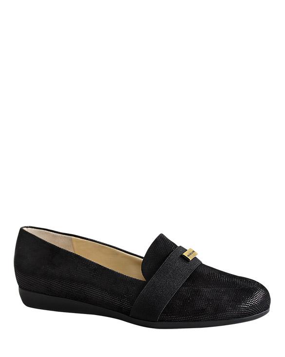 Zapatos Flats FM-9329 Color Negro