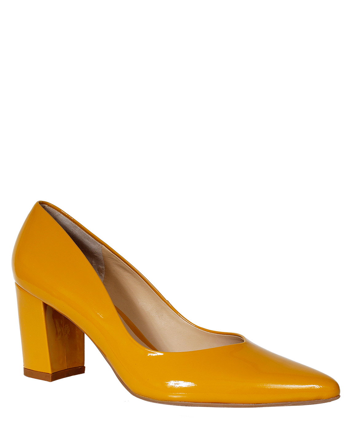Zapatos Pump FR-9594 Color Amarillo