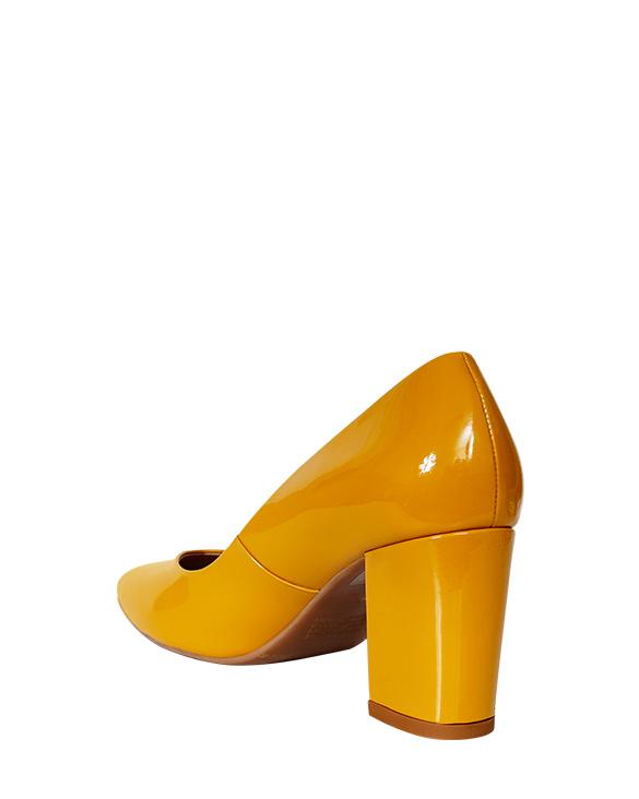 Zapatos Pump FR-9594 Color Amarillo