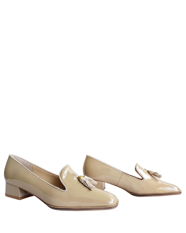 Zapatos Pumps FM-7772 Color Beige