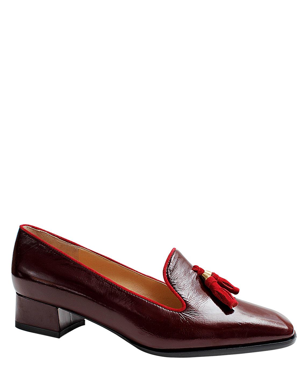 Zapatos Pumps FM-7772 Color Rojo