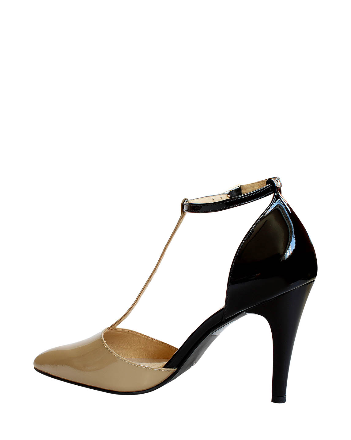 Zapatos Pumps FPT-9294 Color Beige