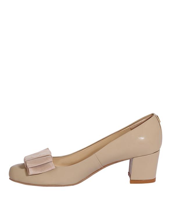 Zapatos Pumps FR-9210 Color Beige