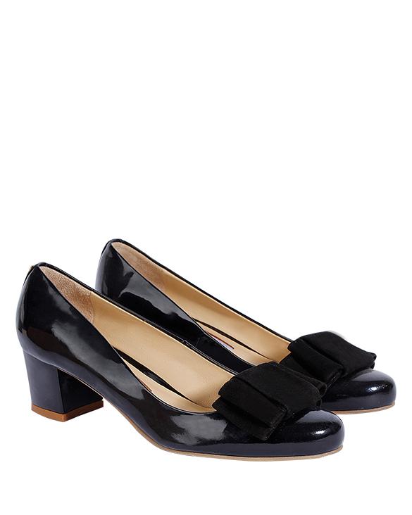Zapatos Pumps FR-9210 Color Negro