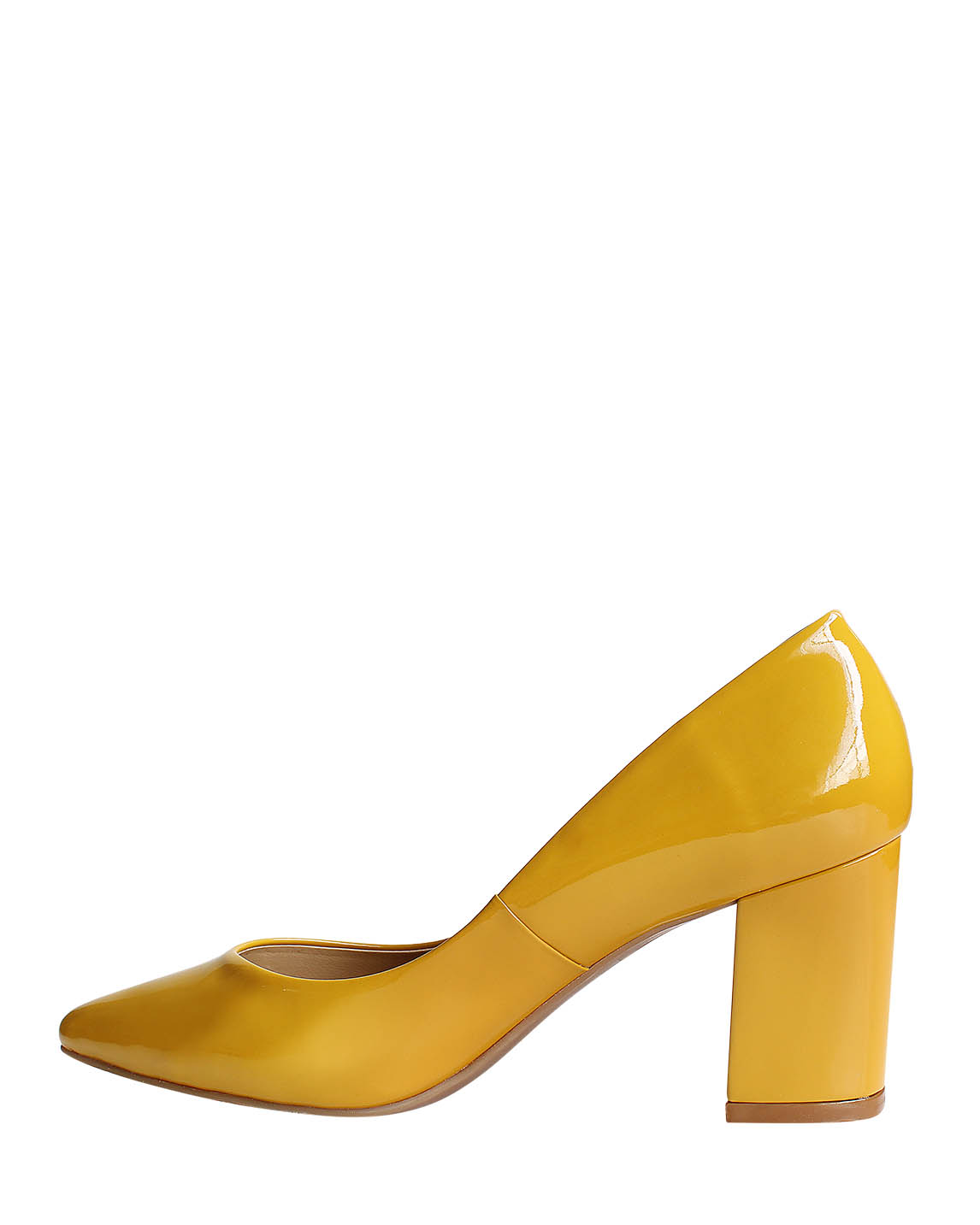 Zapatos Pumps FR-9272 Color Amarillo