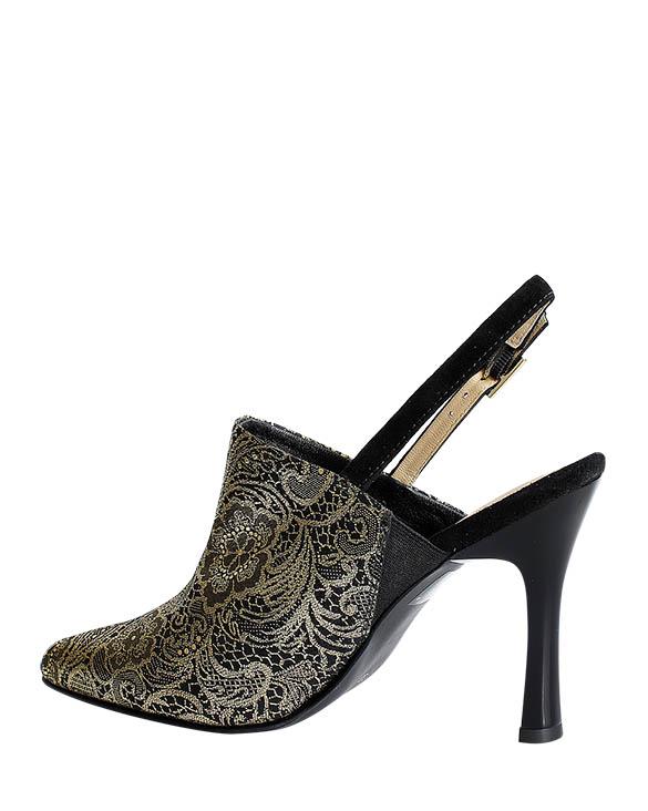 Zapatos Zueco FZ-9285 Color Negro