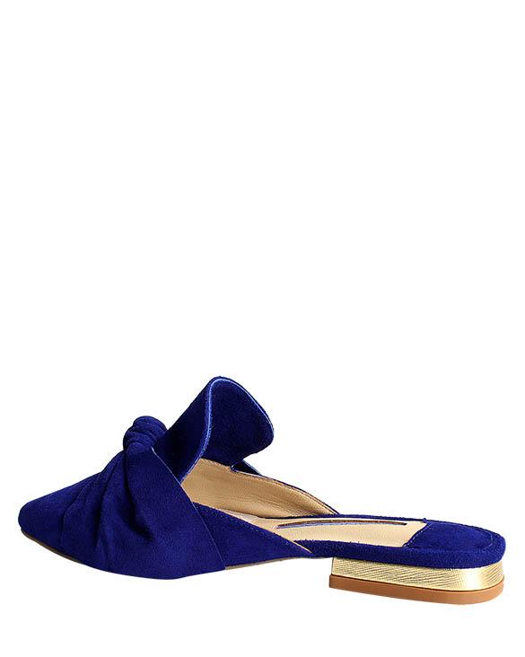 Zapatos Zueco FZ-9297 Color Azul